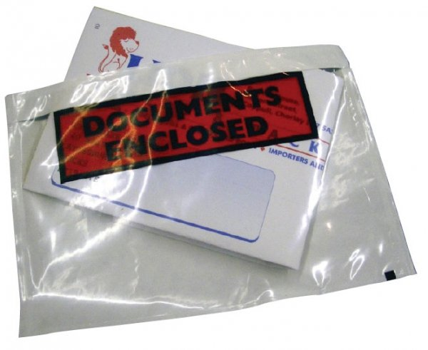 A6 document enclosed wallet